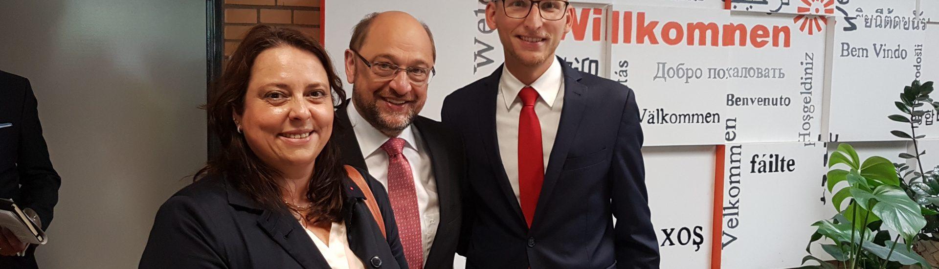 Martin Schulz in Dormagen